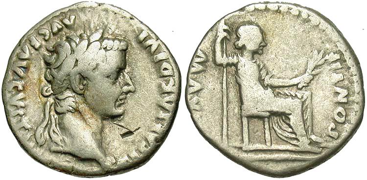 Tiberius Caesar Denarius