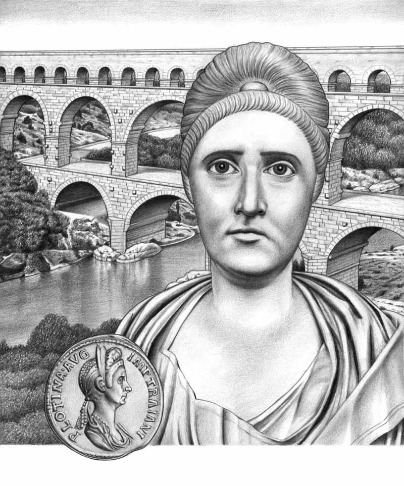 empress plotina Pompeia plotina claudia phoebe piso or pompeia plotina (d 121/122) was a roman empress and wife of roman emperor trajan she was renowned for her interest in philosophy, and her virtue.