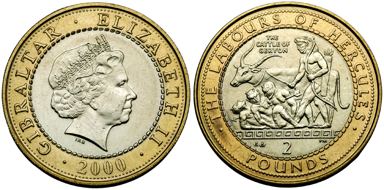My Coin Collection: £2. Two pounds. Two pound coin